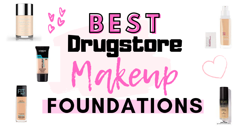 5 Best Drugstore Makeup Foundations