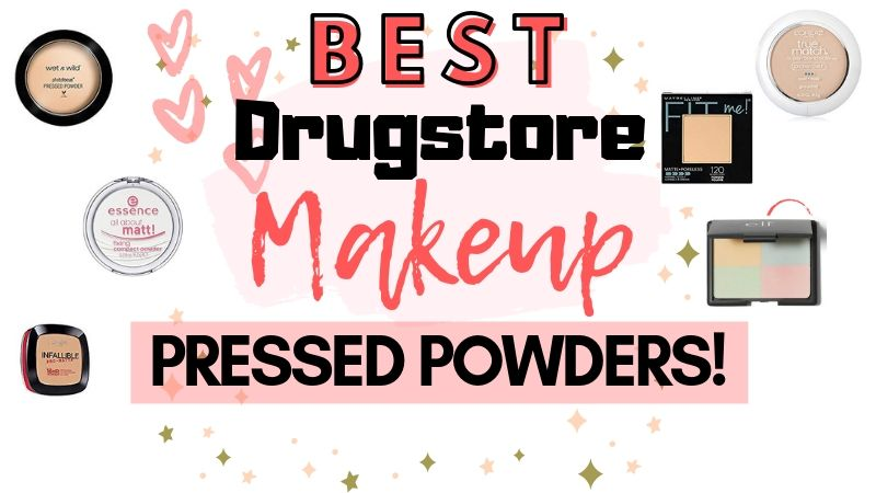 The Best Drugstore Makeup Pressed Powders