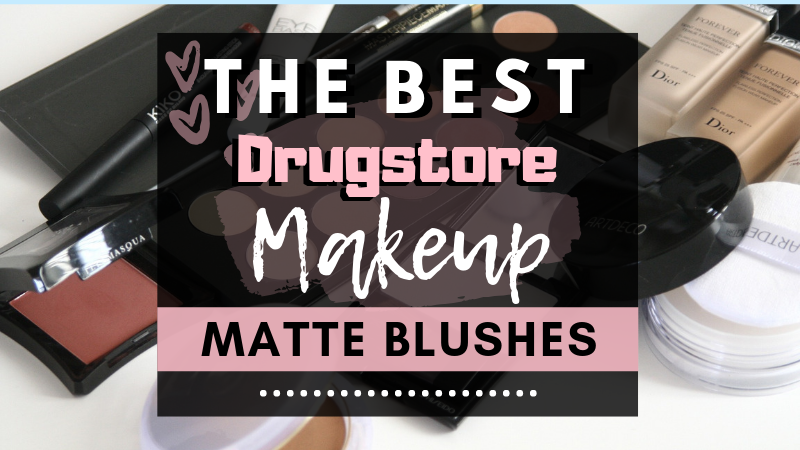 The Best Drugstore Matte Blushes