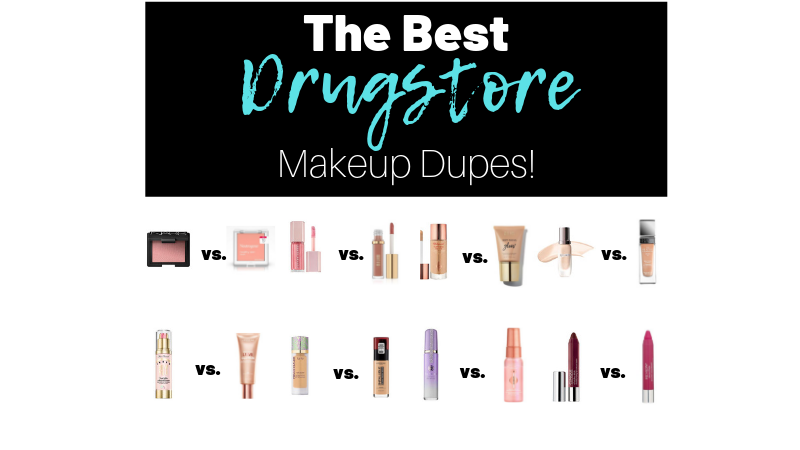 The Best Drugstore Dupes for High-End Makeup