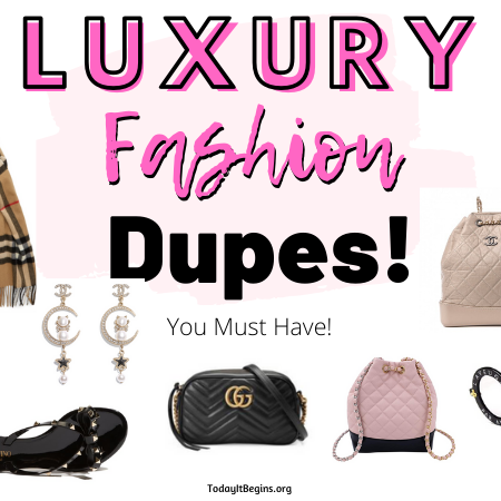9 Luxury Fashion Brand Accessory Dupes